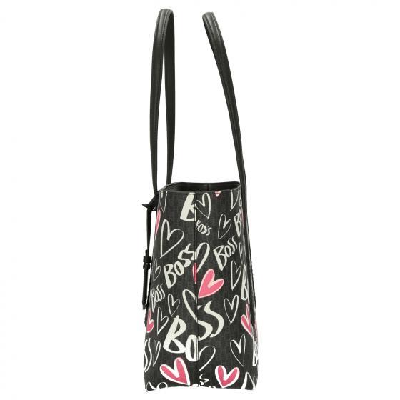 Women Taylor Monogramm Shopper 29 cm black