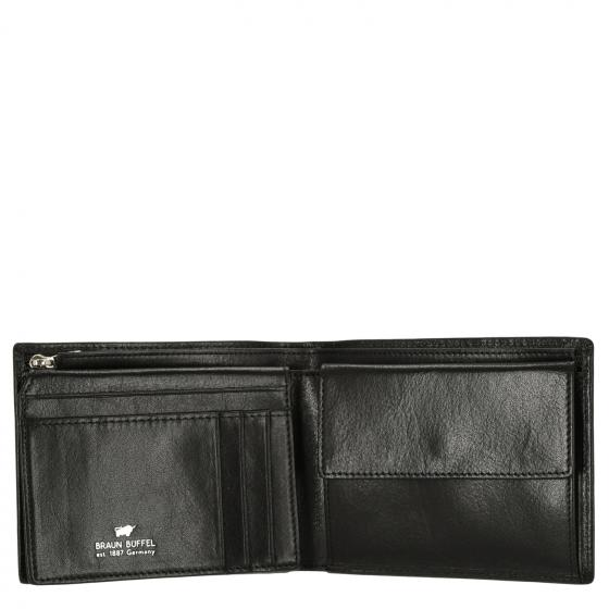 Gaucho Secure Börse 6CS 12.5 cm RFID black