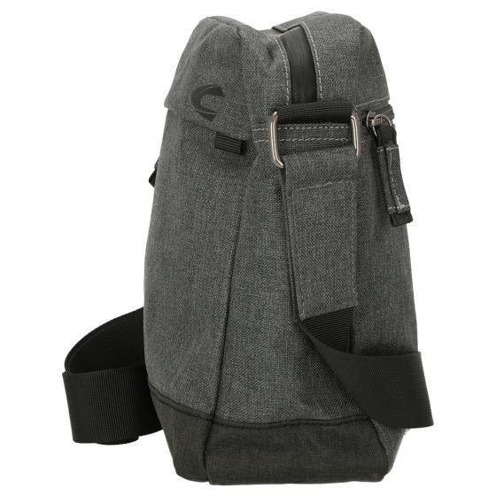 Hong Kong Cross Bag / Umhängetasche 23 cm grau