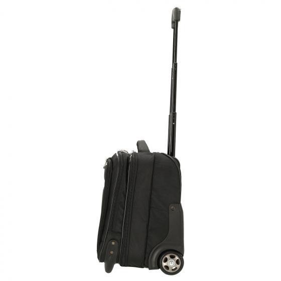 Business & Travel 2-Rollen Businesstrolley mit Laptopfach 17'' 42 cm schwarz