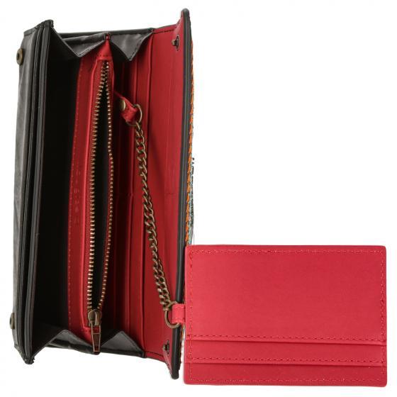 Accessoire Mone Carlina  Mariona Wallet Börse lang 19 cm braun