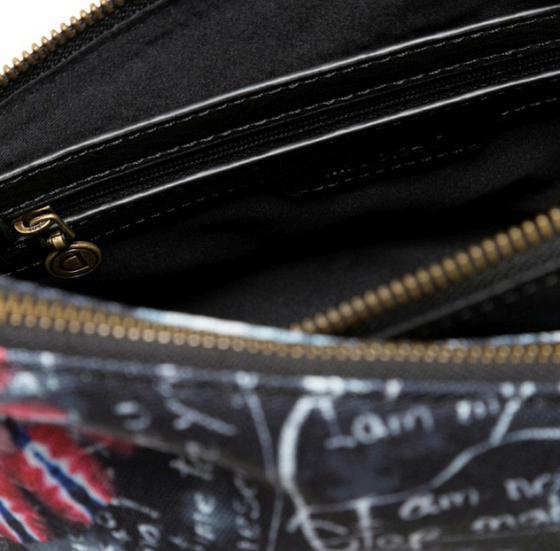 Bols Black Paper Harry Mini Schultertasche 24 cm negro