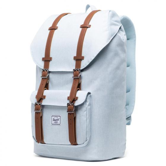 Little America Backpack 25 l 49.5 cm ballad blue pastel crosshatch
