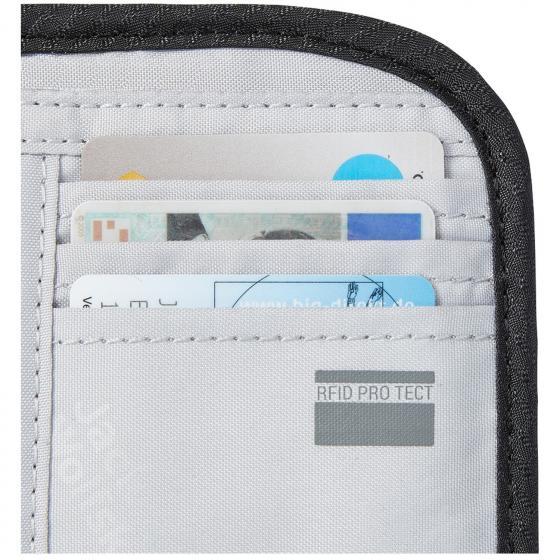 Cashbag RFID Geldbörse 13.5 cm phantom