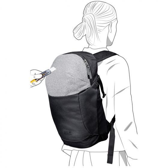 Protect 20 RFID Reiserucksack 46 cm black