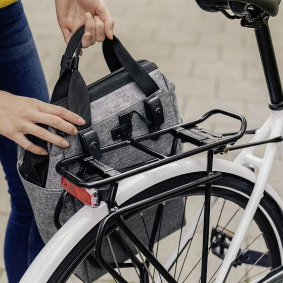 Roomy GT Fahrradtasche 40 cm twist silver