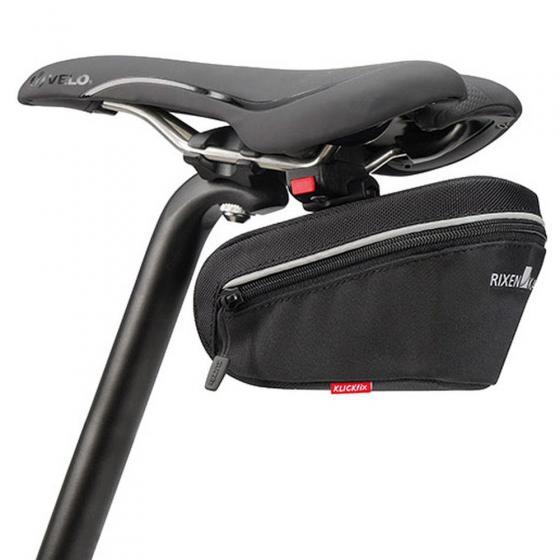 KLICkfix Rixen & Kaul Micro Sport 100 Satteltasche (inkl. KLICKfix Satteladapter) black