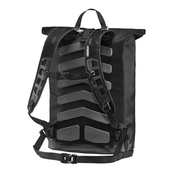 Commuter Daypack City 27 Rolltop Rucksack 50 cm black
