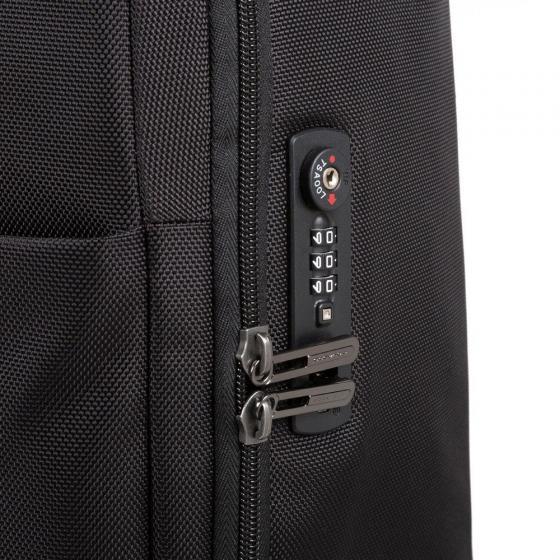 Brief 2 Ultra Slim 4-Rollen-Kabinentrolley S 55 cm black