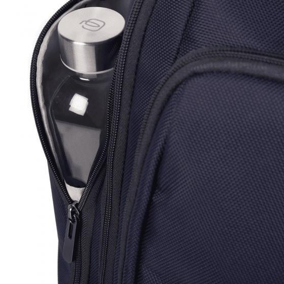 Kabinenlaptoptrolley/Rucksack mit iPad-Fach Connequ blau