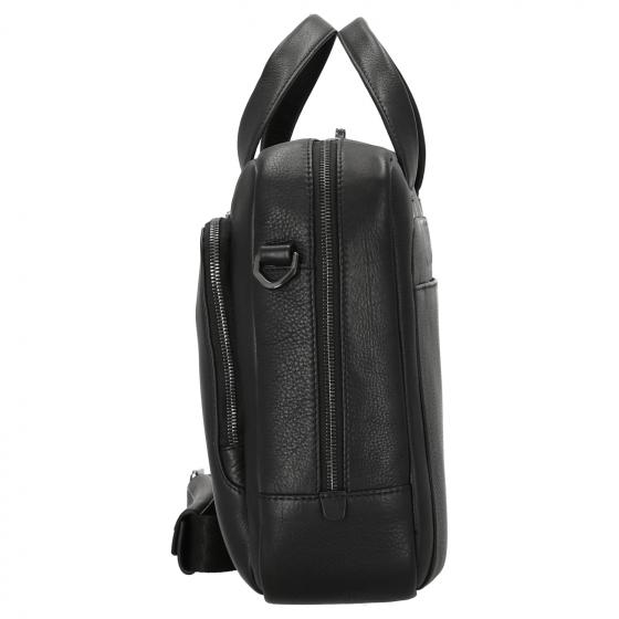 Roadster Leather Briefbag 15'' S 38 cm black