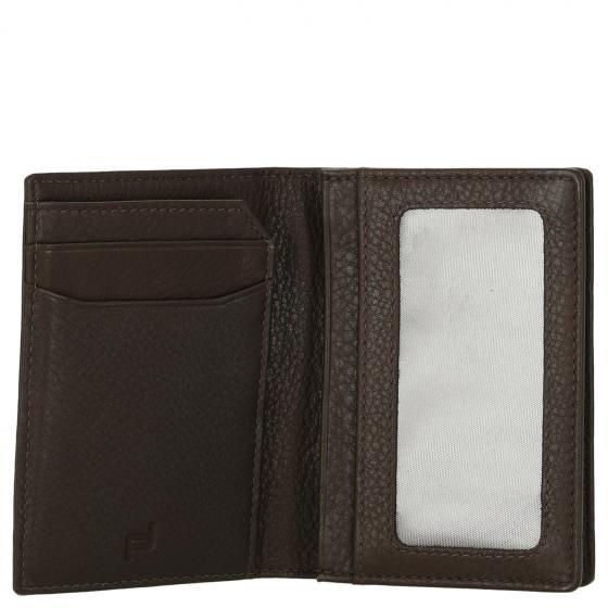 Business Cardholder 2  Kreditkartenetui RFID 11 cm dark brown