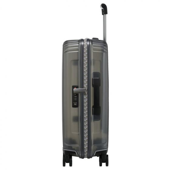 Neopulse Lifestyle 4-Rollen-Kabinentrolley 55 cm transparent grey