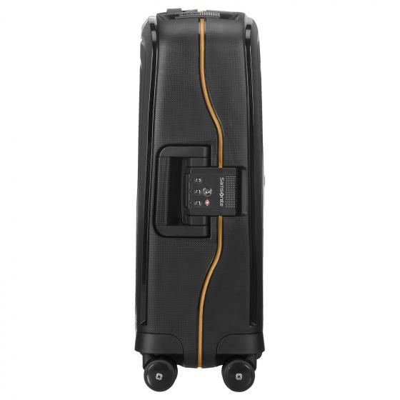 S Cure Eco 4-Rollen-Kabinentrolley 55 cm black