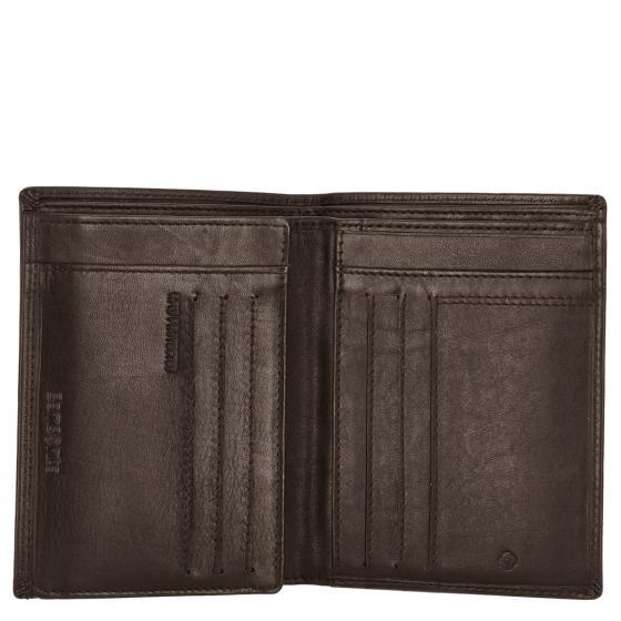 Attack 2 SLG Kreditkartenbörse RFID 13 x 10 cm ebony brown