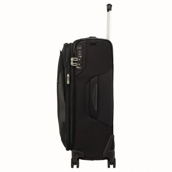 X´Blade 4.0 4-Rollen-Trolley 63/23 cm erweiterbar black