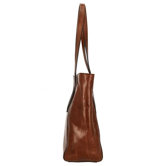 Giovanna Shopper 30 cm cognac