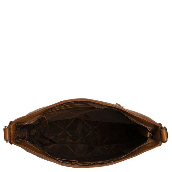 Joinville Schultertasche  35 cm  cognac