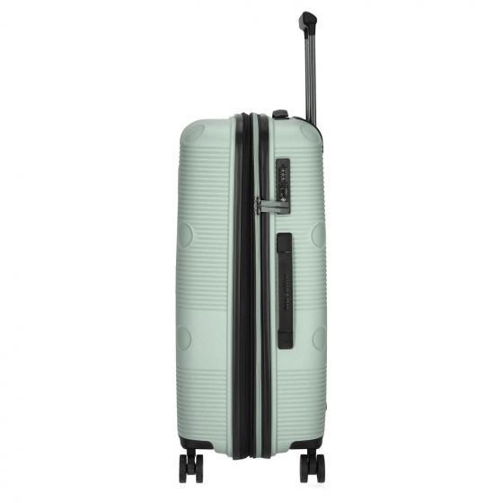 Smarty 4-Rollen-Trolley M 68 cm erweiterbar mint