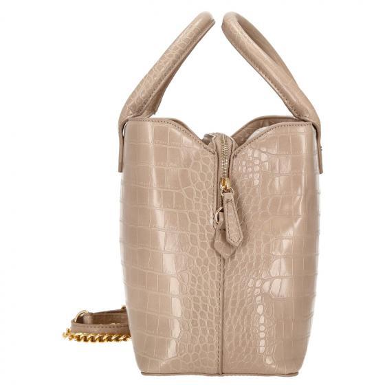 Amaranth Handtasche 34 cm beige