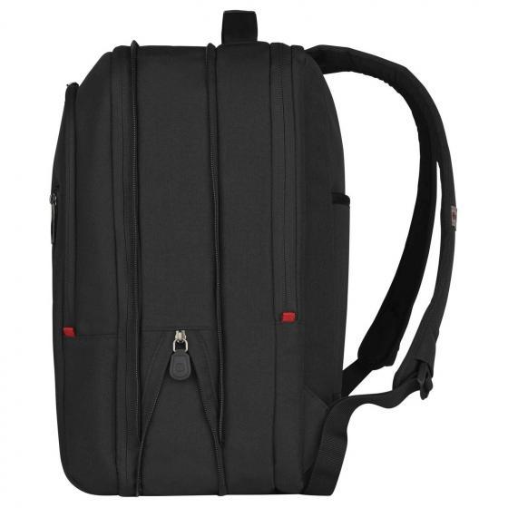"""City Traveler Handgepäck-Rucksack mit Laptopfach 16""""/Tablet-Fach 12"""" 42 cm black"""