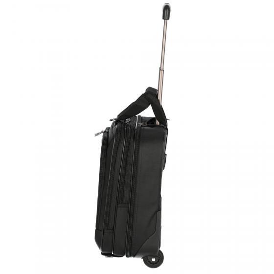 2-Rollen-Businesstrolley 40 cm black