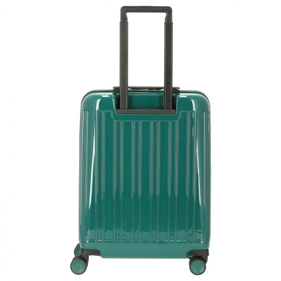 Seeker Ultra Slim 4-Rollen-Kabinentrolley S 55 cm green
