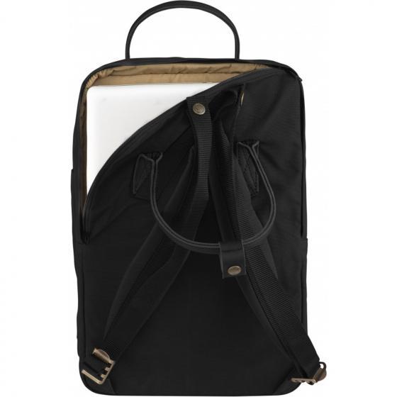 "Kanken No. 2 Rucksack Laptop 15"" 40 cm (Black Edition) black"