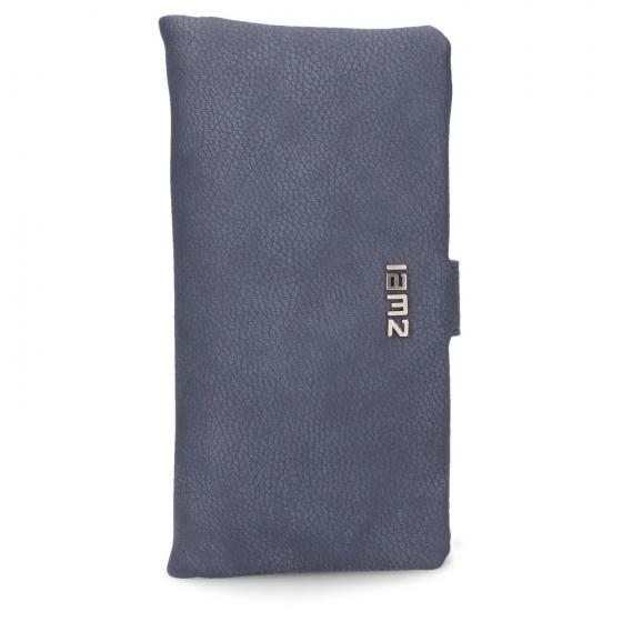 Mademoiselle MW3 Wallet Börse 20 cm nubuk-blue