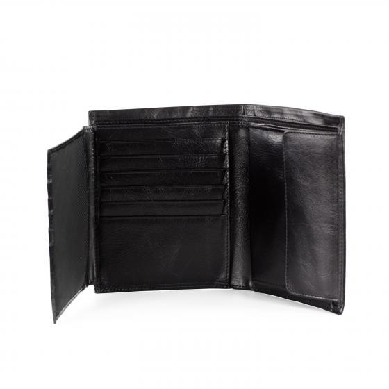 Apache Geldbörse Leder 13 cm kastanie