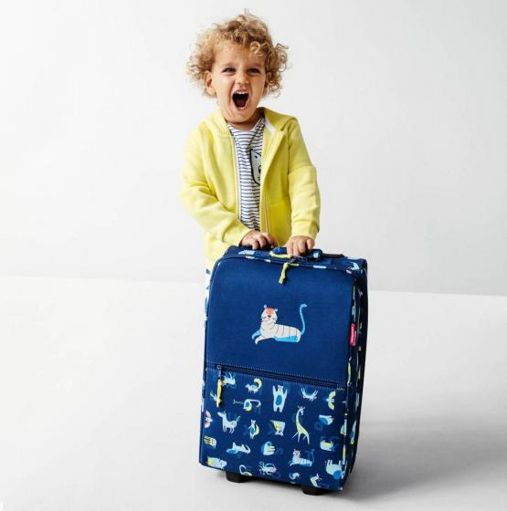 kids collection trolley XS / 2-Rollen-Kindertrolley 43 cm blue