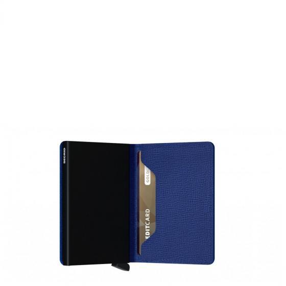 Crisple Slimwallet Geldbörse RFID 6.8 cm blue