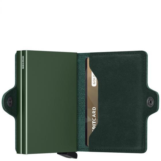 Original Twinwallet Geldbörse RFID 7 cm green