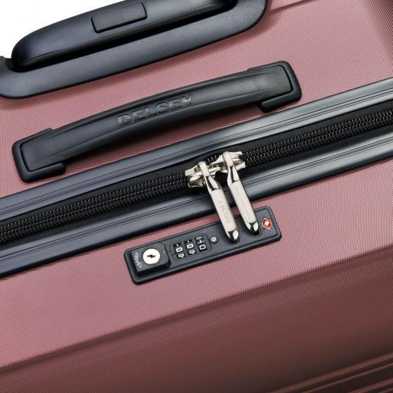 Segur 2.0 4-Rollen-Kabinentrolley Slim Line S 55 cm violett