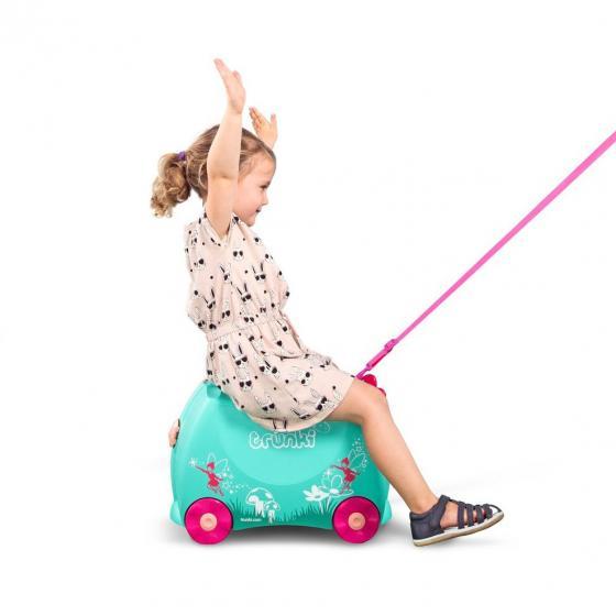 Ride-On Koffer befahrbarer Kindertrolley 46 cm Flora Fairy