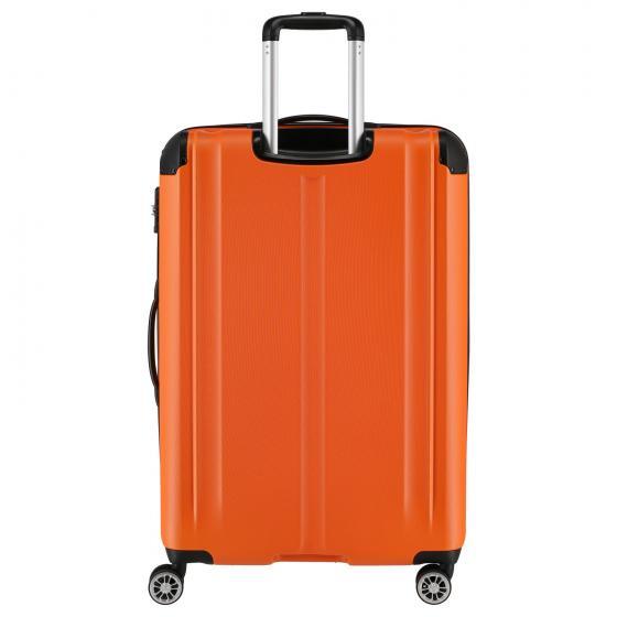 City 4-Rollen-Trolley erweiterbar M 68 cm orange