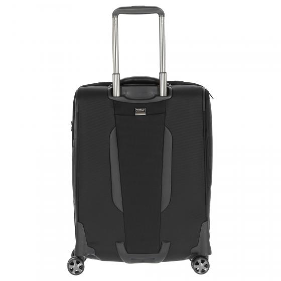 PRO-DLX 5 Mob. Off SP Toppocket 4-Rollen-Businesstrolley 56 cm black