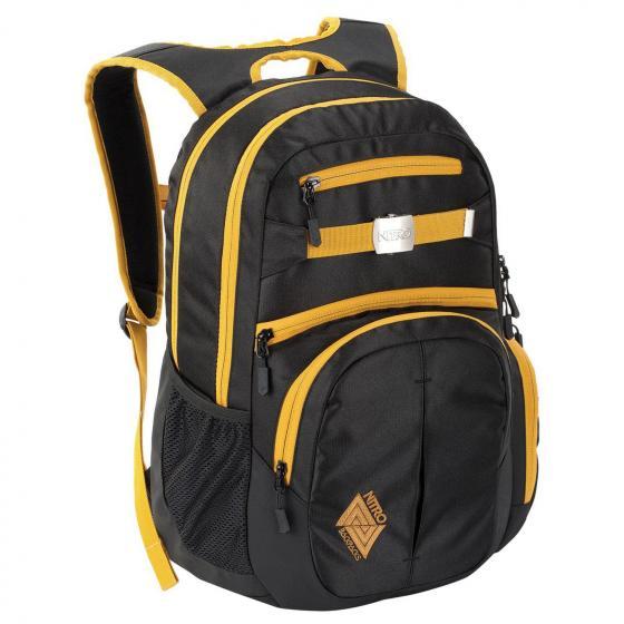 "Hero Laptop-Rucksack 17"" 52 cm golden black"