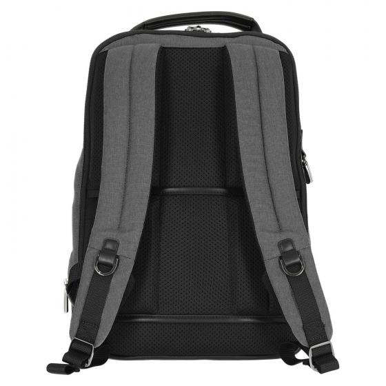 "Checkmate Laptop Backpack 15.6"" Zip 44 cm grey"