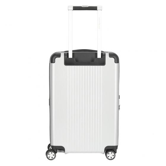 #MY4810 Cabin Compact 4-Rollen-Kabinentrolley 55 cm silber
