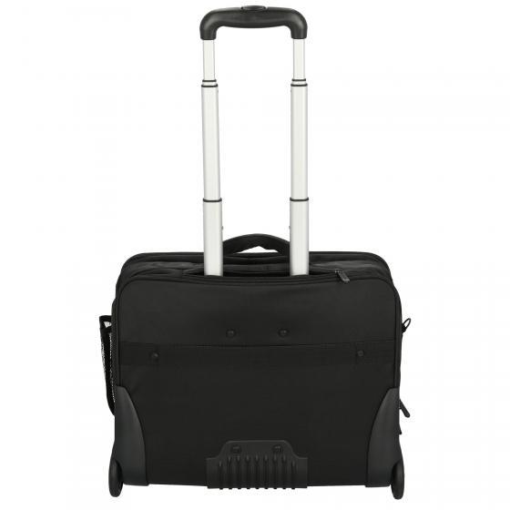 """Office Case aus Nylon Businesstrolley 46 cm 17"""" schwarz"""