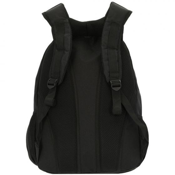 Rucksack Nylon 45 cm schwarz