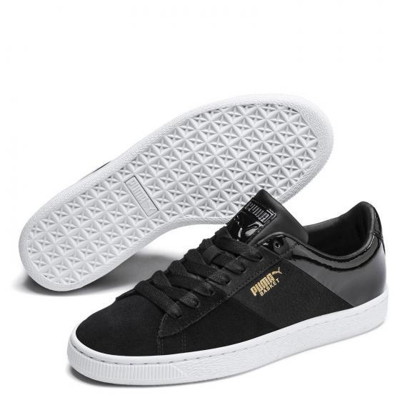 W Basket Remix Sneaker Schuh 369956 40 1/2 | black