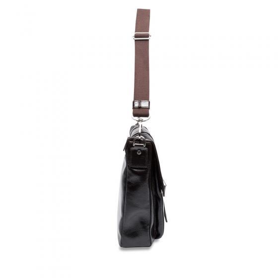 Buddy Schultertasche Medium 37 cm schwarz