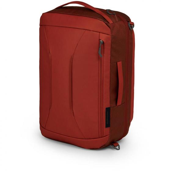 Oprey Transporter Global Carry-On 38 mit Laptopfach 50 cm ruffian red