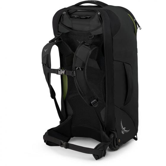 Fairview Wheels 65 Rucksacktrolley 65 l 70 cm black