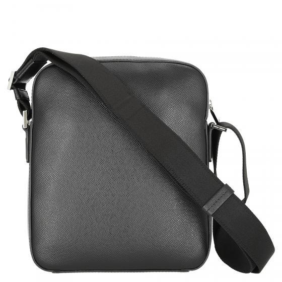 Signatur Reporter bag aus Palmellato-Leder 27 cm black/NOS