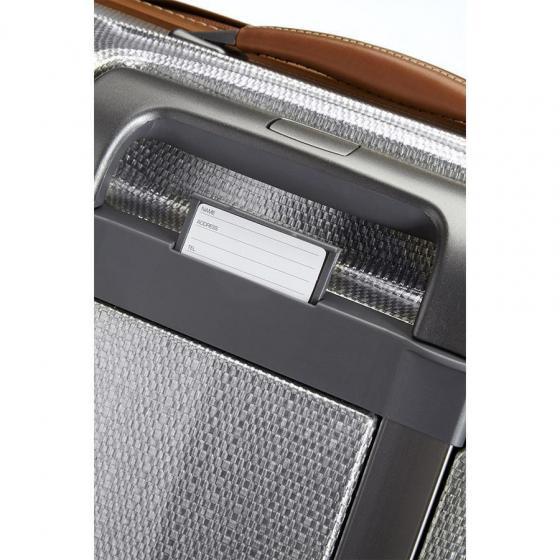 Lite-Cube DLX Spinner 4-Rollen-Trolley 82 cm aluminium