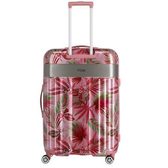 Spotlight Flash 4-Rollen-Trolley L 76 cm pink hawaii