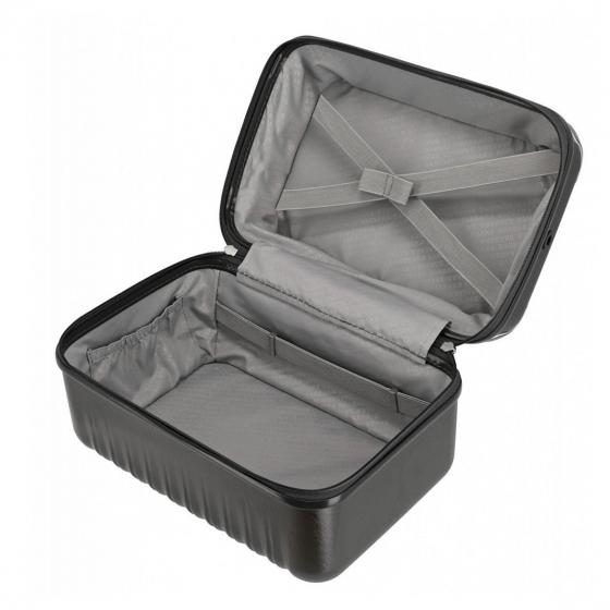 Barbara Glint Beauty Case 38 cm anthrazit metallic